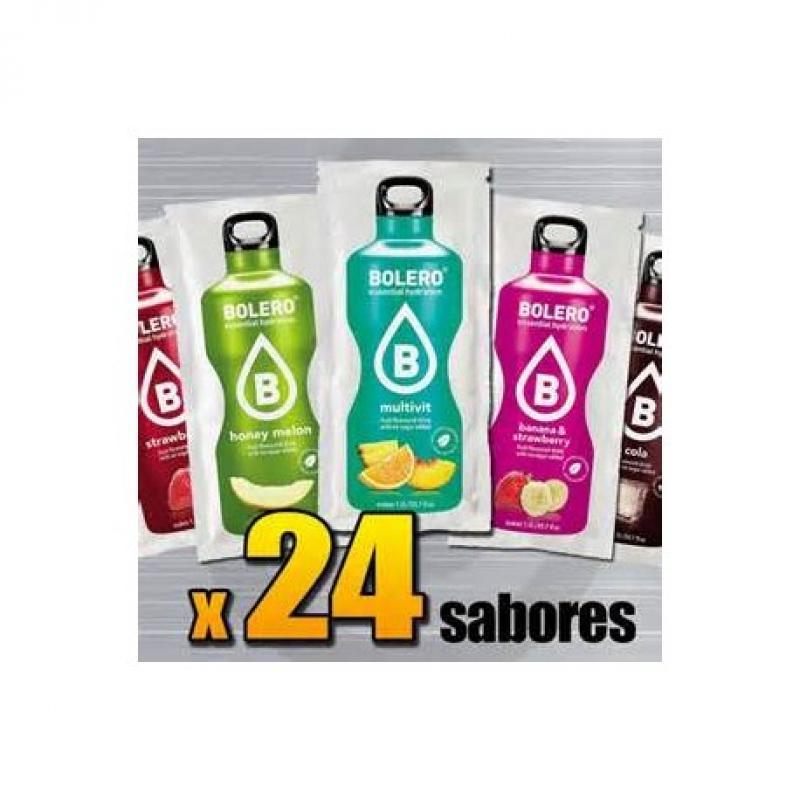 BEBIDAS BOLERO CAJA DE 24 SABORES VARIADOS