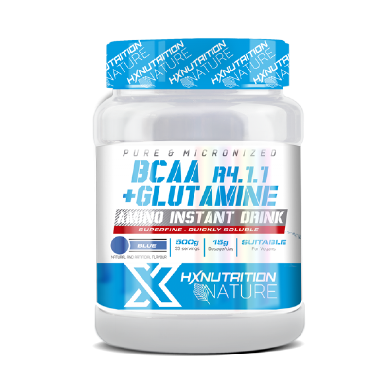 HX NATURE GLUTAMINA + BCAA 4.1.1. 500GR COLA