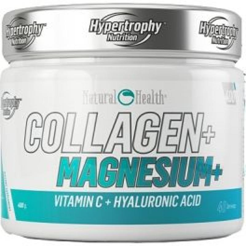 HYPERTROPHY NATURAL HEALTH COLLAGEN + MAGNESIUM 400GR FRUTOS DEL BOSQUE