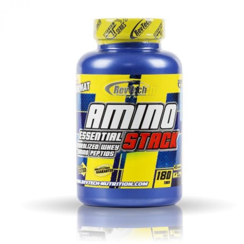 REVTECH AMINO ESSENTIAL STACK 180 CAP