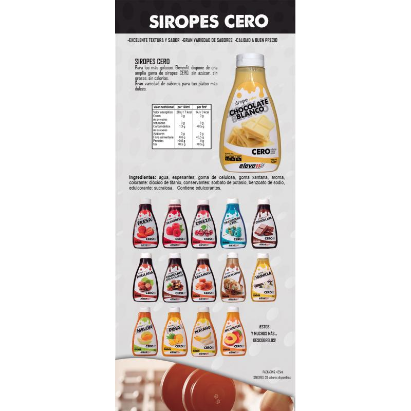 SIROPE CHOCOLATE BLANCO ELEVENFIT