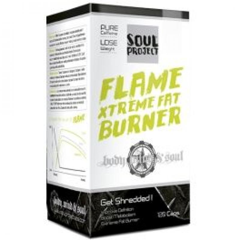 SOUL PROJECT FLAME XTREME FAT BURNER 120CAP