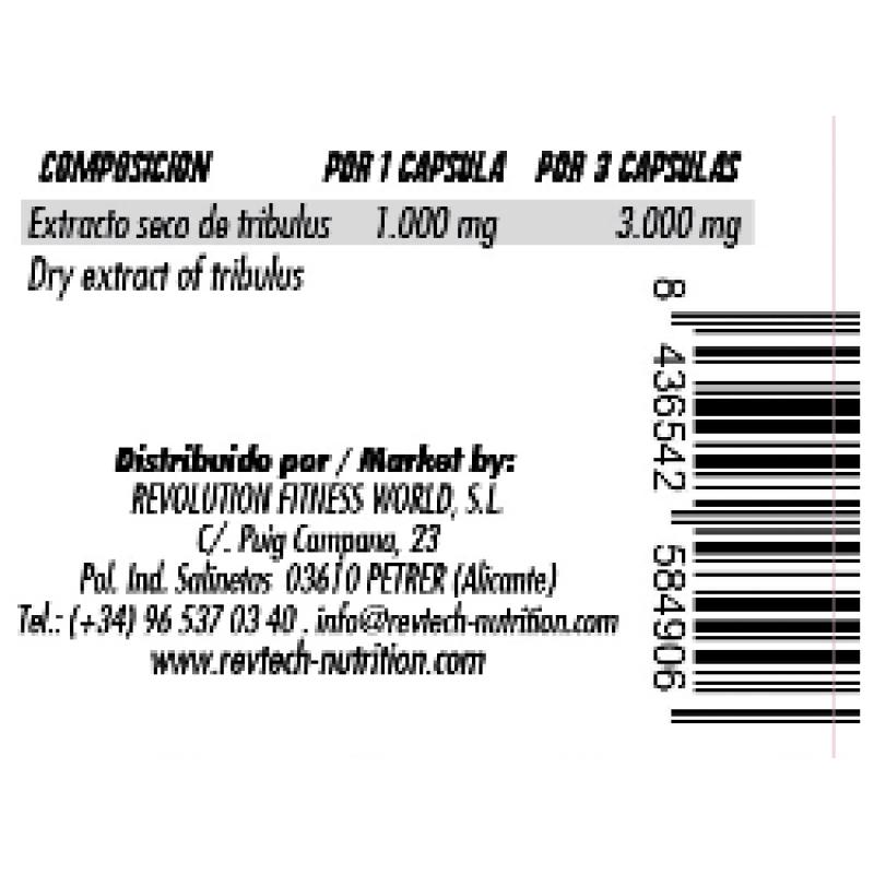 REVTECH TRIBULUS 3000 90 CAP